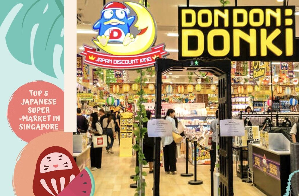 TOP 5 JAPANESE SUPERMARKET IN SINGAPORE