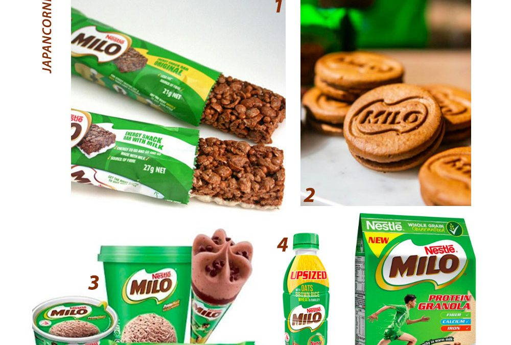 5 NEW MILO PRODUCTS